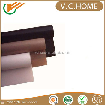 Free Sample New products ptfe/teflon coated fiberglass fabric bbq liner