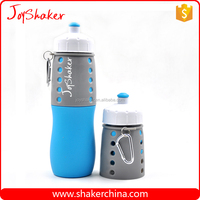Outdoor BPA free Silicone Foldable Swell Water Bottle