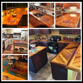 Ultra Clear Waterproof Epoxy Countertop Coating