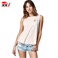 womens fashion gym tank top side slit muscle wholesale tank top