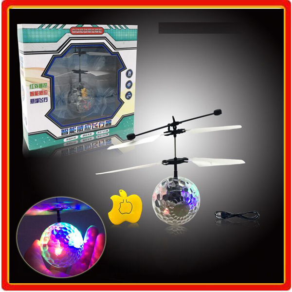 christmas 2015 radio control induction flying ball rc