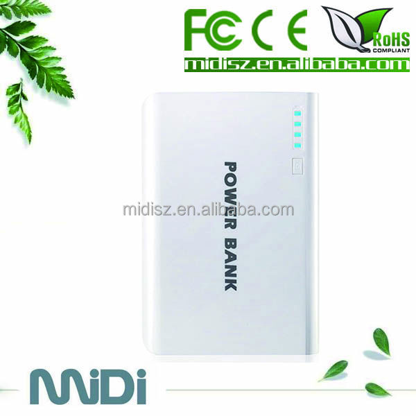 External battery charger power bank/power pack for cell phone 12000mAh
