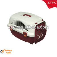 Plastic outdoor pet cages,pet travel carrier cage