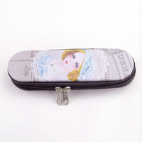LANGUO zipper tin box / pencil tin case with princess in hot sale Model:LGAL-2670