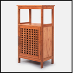2017 new design bamboo/MDF shoe storage cabinet organizer with doors