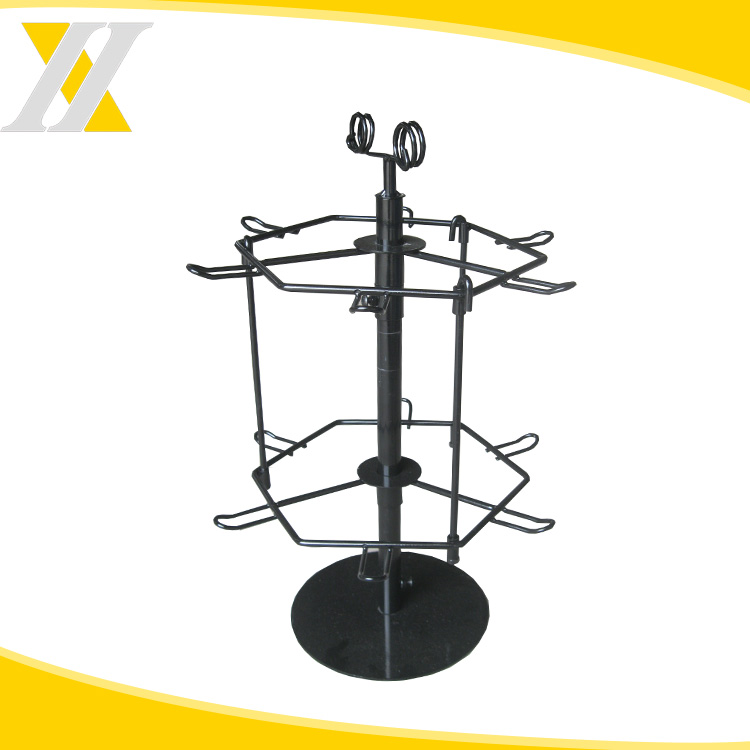 Hot Sale Steel Rotaing Counter Display Rack Craft Show Display Stands