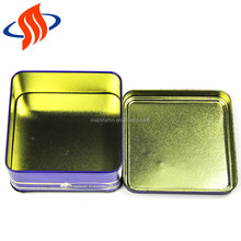 120x120x52mmh food grade small tin containers