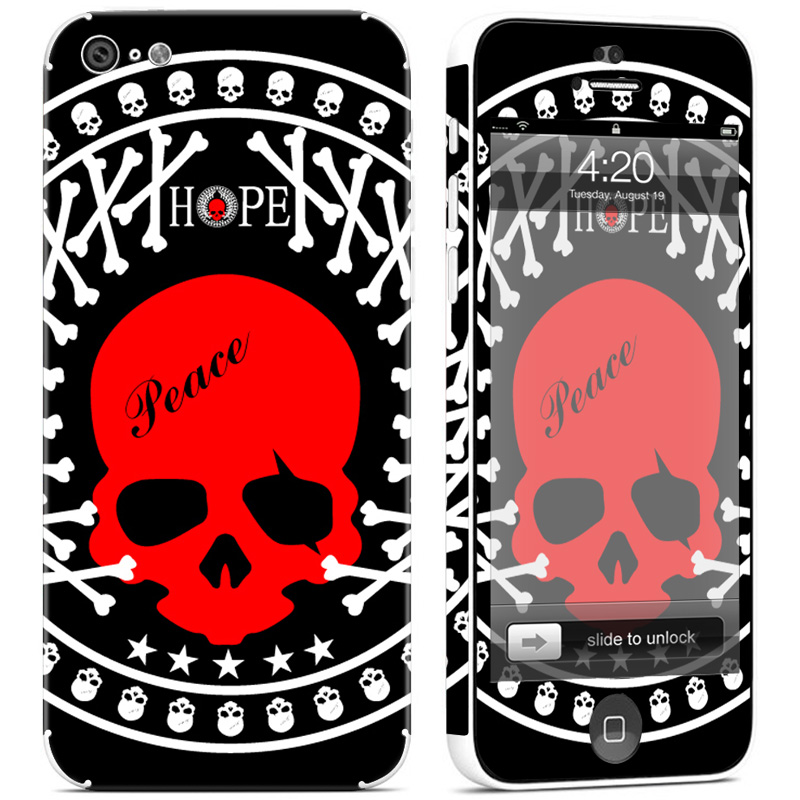 Colorful Printed Case Cover Skin for iphone 5C