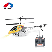 Kids flying toy long range alloy series rc helicopter with 3.5 channel