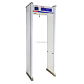 18 Zones Intelligent Touch Screen Digital Portable Walk Through Metal Detector MCD-500C