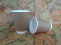 Custom design double wall 8oz 12oz 16oz paper cup for coffee and tea