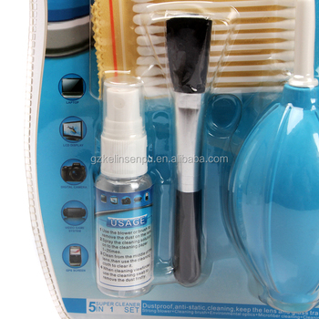 camera type Anti-dust multi-purpose Laptop Keyboard Cleaning Air Blower cleaning set
