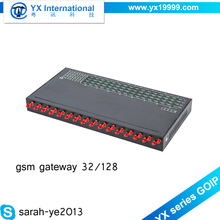 YX 32 sim card 128 pool pbx system 3g voip router gsm voice gateway