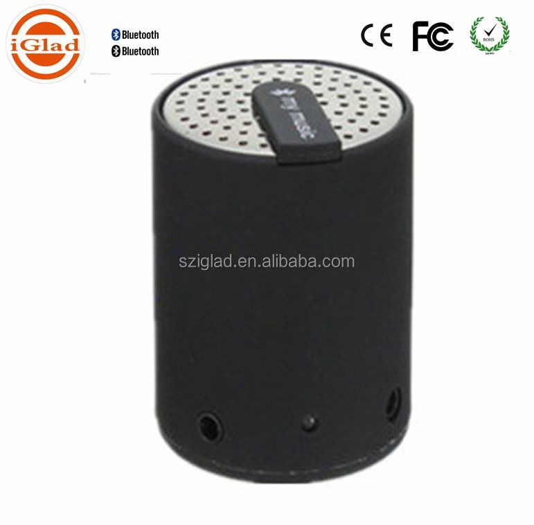 New portable 2.0 mini bass multimedia stereo microphone Bluetooth Speaker