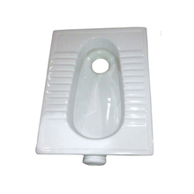 Ceramic Floor Standard Toilet Size Squatting Pan