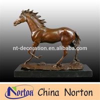 Chinese Metal Gifts bronze horse statue NTBH-HR215R