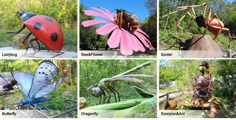 Garden Sculptures For Sale Large Insect Models