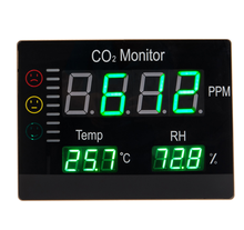 High Quality HT-2008 Wall mount Indoor Gas Detector Air Quality Meter CO2 Monitor Temperature/RH Tester