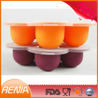 baby ice cube trays,baby food ice cube tray,silicone ice cube tray with lid