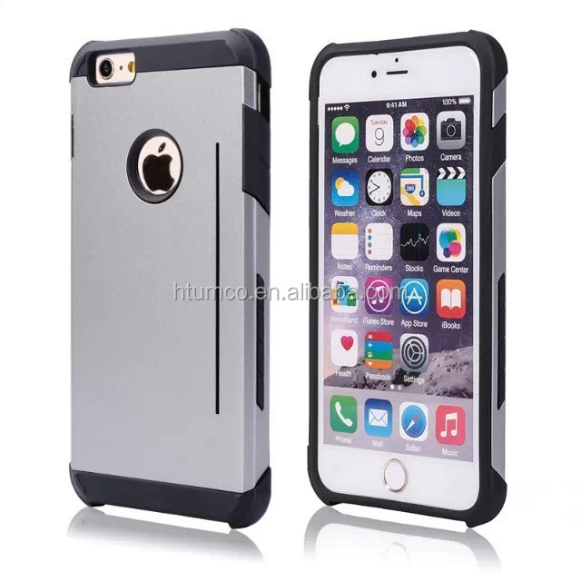 wholesale Newly design free sample phone case, sublimation case, Spray rubber oil+TPU case for iphone 6/ iphone 6plus