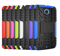 PC silicone case for nokia n900 with kickstand