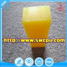 Colored cast solid plastic pu polyurethane rod