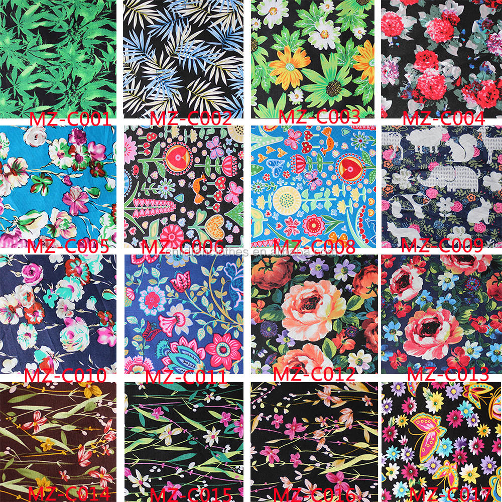 2016 new textile printing fabric digital printing fabric for Fabric printing