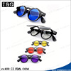 Flip sunglasses mirror color lens new design high quality eyewear China promotional oculos de sol feminino