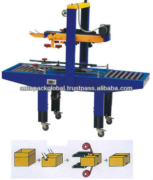 Semi Auto Box / Carton Taping Machine