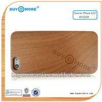 hot selling! durable and practical wooden case back cover for iphone5