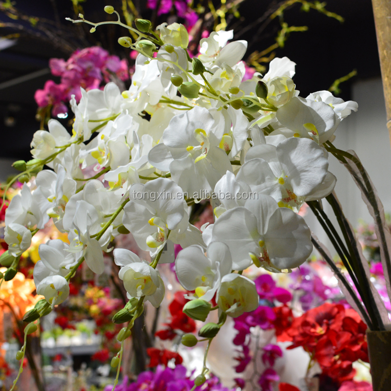 Wedding centerpiece artificial orchid flowers buy