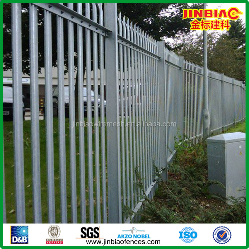 Palisade fence security fencing beautiful