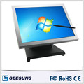 TM1509 new 15 inch sliver Aluminum touch screen monitor/industrial touch screen monitor