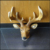 shop wall -mounted resin deer animal head statue and sculpture