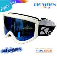 black snowboard goggles  ski goggles,yj