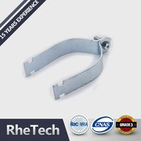 Factory Supply Custom Shape Printed Split Pipe Clamp