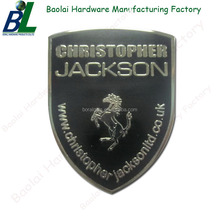 Custom Cheap Fashion Decorative Logo Metal Nameplate for Company