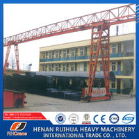 CE, ISO Certificated China Crane Manufacturer, 10 Ton Truss-type Gantry Crane Specification