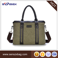 china suppliers canvas men handbags messenger bags with laptop compartment