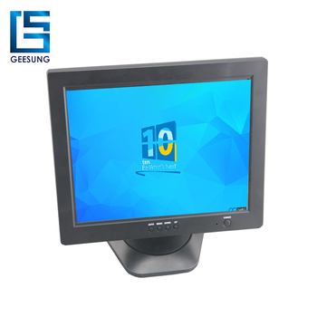 12V Square 4:3 12.1 Inch Computer LCD Monitor