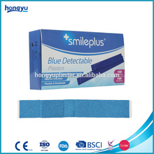 2017 most popular blue elastic fabric wound adhesive plasters