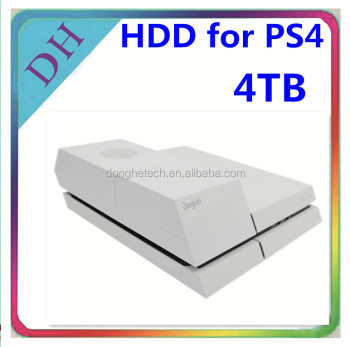 For PS4 hard drive China price--4TB Hard Disc with White/black hdd external case wholesale video game accessories