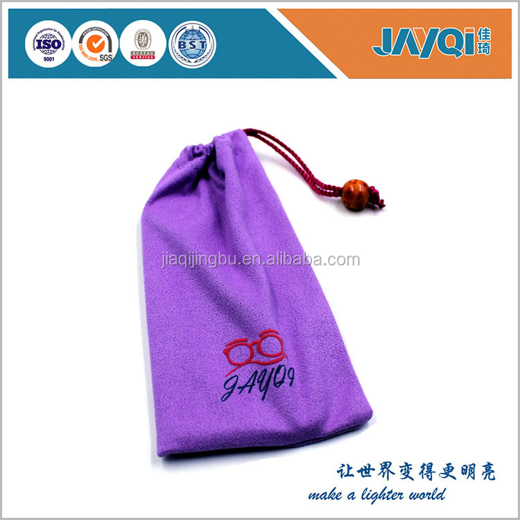 Hot sell zippered jewelry pouch gold supplier