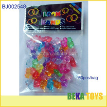 lovely kids DIY large beads pendant crystal clear acrylic beads kitty beads
