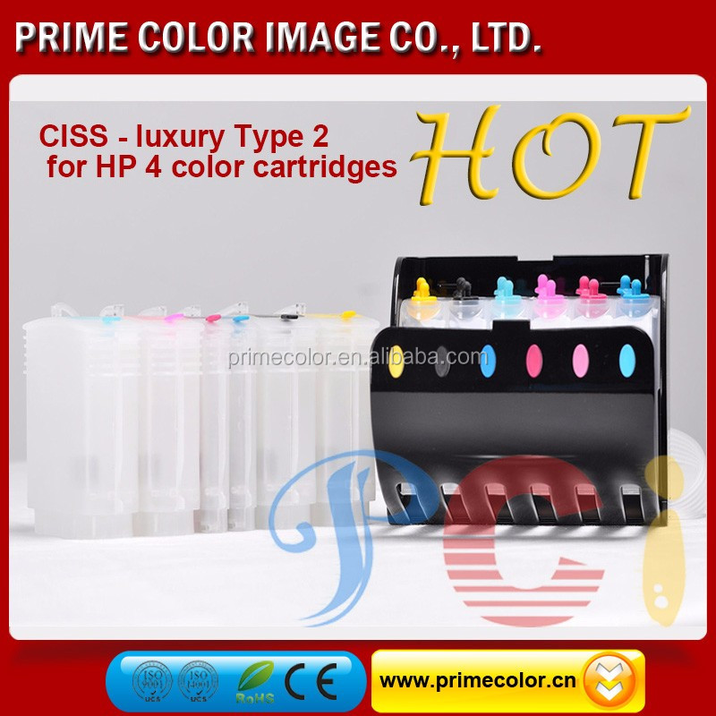 Continuous Ink System (CISS) for HP 10/ HP 11 C4840A, C4841A, C4842A, C4843A
