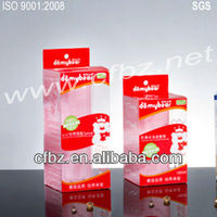 Offset PET Plastic Packing Boxes for Nursing Bottle