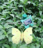 garden decor solar moving butterfly/Solar stake flying butterfly(FD53112b2