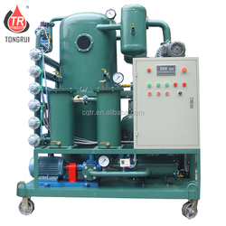 Latest technology waste transformer oil recovery machine/ hydraulic oil purifying plant