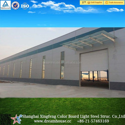 light steel structure fabricate houses/metal steel frame warehouse