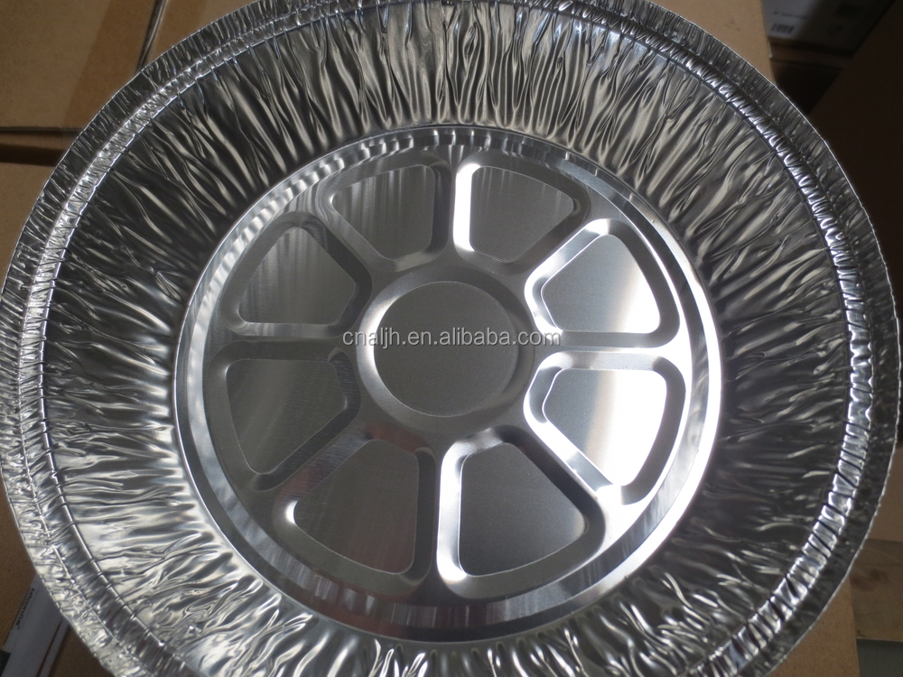 Medium Round Pie Foil Container /8 inches cake baking pan with dome plastic lid